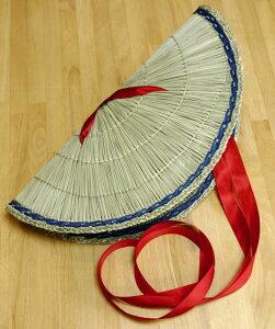 編み笠 子供用サイズ おけさ笠 女踊り用 編笠 阿波踊り用品