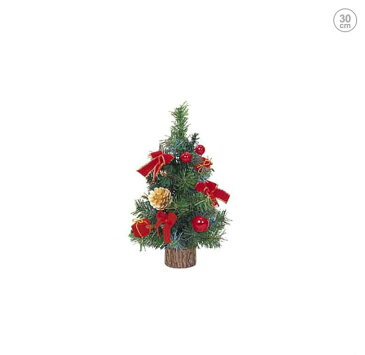 30cmデコレーションツリー (クリスマス・ツリー・オーナメント・LED・おしゃれ・インテリア・ヌードツリー・置物・ボール・クラシック・スノー・雪)