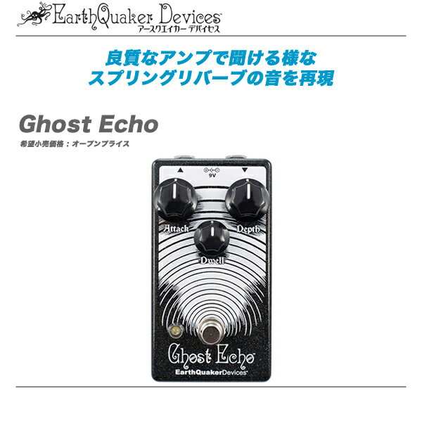DAW・DTM・レコーダー, その他 EarthQuakerDevice GhostEcho