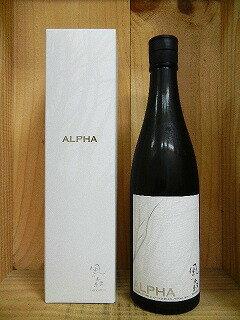 日本酒 風の森 ALPHA TYPE2(アルファータイプ2)純米大吟醸酒720mlカートン箱入り【油長酒造】[クール便発送]