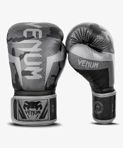 VENUM【ヴェヌム】 ボクシンググローブ Elite - エリート(ダークカモ)/ 総合格闘技 ボクシング キックボクシング ブラジリアン柔術 MMA UFC ファイトギア ベヌム ベナム ヴェノム ベノム
