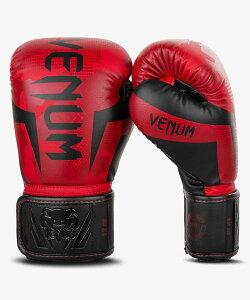 VENUM【ヴェヌム】 ボクシンググローブ Elite - エリート(レッドカモ)/ RedCamo 総合格闘技 ボクシング キックボクシング ブラジリアン柔術 MMA UFC ファイトギア ベヌム ベナム ヴェノム ベノム