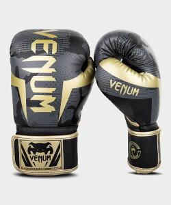 VENUM【ヴェヌム】 ボクシンググローブ Elite - エリート(ダークカモ/ゴールド)/ RedCamo 総合格闘技 ボクシング キックボクシング ブラジリアン柔術 MMA UFC ファイトギア ベヌム ベナム ヴェノム ベノム
