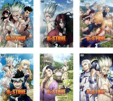 Dr.STONEドクターストーン(6枚セット)第1話〜第24話最終 全巻セットアニメ中古DVD レンタル落ち