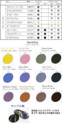 メーカーカラー以外のカラー見本