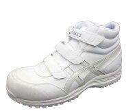 【送料500円】0100アシックス安全靴ホワイトFIS53Sハイカット白