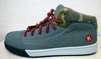 ケイゾックKZS600安全靴おしゃれな迷彩調がGOOD!