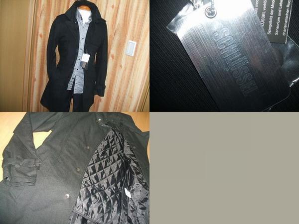 ◆シュリセル コート ライナー付シングルトレンチ 黒2 kb■