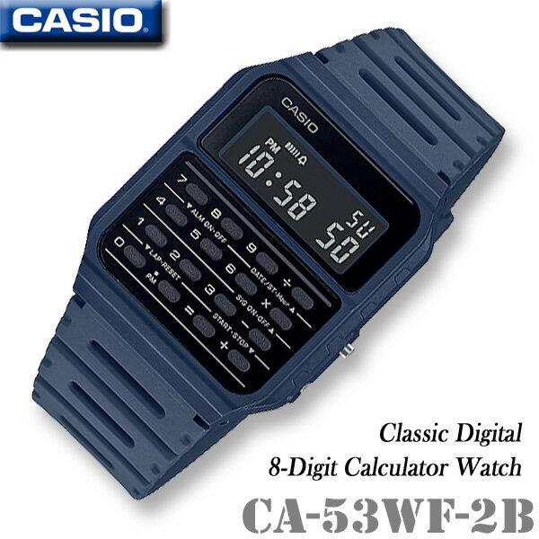 CASIO Calculator Watch CASIO CA-53WF-2B CALCULAT...