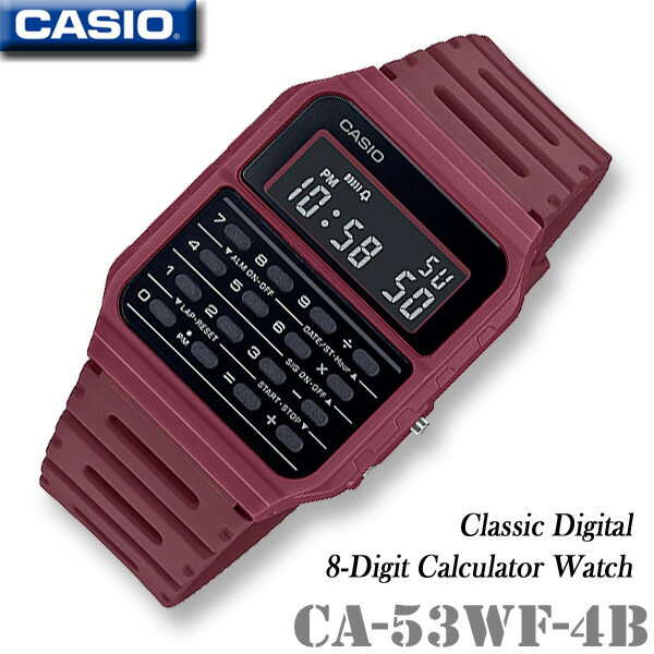CASIO Calculator Watch CASIO CA-53WF-4B CALCULAT...