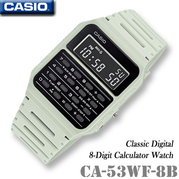 CASIO Calculator Watch CASIO CA-53WF-8B CALCULAT...