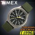 【あす楽対応】TIMEX【T49961】EXPEDITIONSCOUTMETALFULLタイメックスエクスペディションスカウトメタルメンズクォーツ腕時計ナイロンベルトカーキグリーン並行輸入【新品】