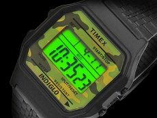 在庫有り!即納可『宅配便』で全国*送料無料*【あす楽対応】TIMEX【TW2P67100】CLASSICDIGITAL34mm径タイメックスクラシックデジタルメンズ/レディース/ユニセックスQUARTZクォーツデジタル腕時計カモフラージュ迷彩並行輸入【新品】