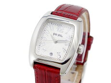 おススメ!フォリフォリFOLLIFOLLIEクオーツレディース腕時計S922DARKRDダークレッドレッド赤レディース女性用フォリフォリ腕時計