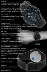 在庫有り!即納可*送料無料サービス*【あす楽対応】CASIOEF-552PB-1A2カシオEDIFICEエディフィスクォーツクロノグラフメンズ腕時計ブラック×ブルー【10気圧防水】海外モデル【新品】