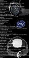 在庫有り!即納可『ゆうパック』で全国*送料無料*【あす楽対応】カシオCASIOPRW-3000-1AプロトレックPROTREK電波ソーラー腕時計黒ブラックアウトドア登山【国内PRW-3000-1AJFと同型】海外モデル【新品】