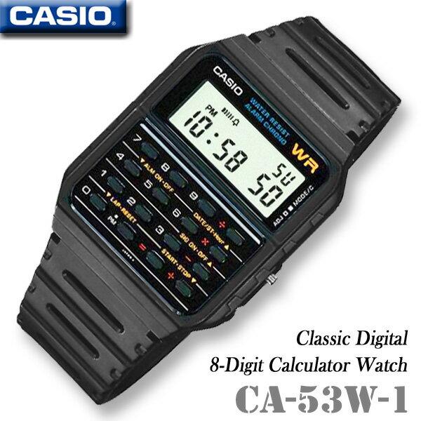 CASIO Calculator Watch CASIO CA-53W-1 OK CALCULA...