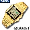CASIO A500WGA-1 WORLD TIME STANDARD DIGITAL カシオ スタンダード デジタル クォーツ 腕時計 ワールド...