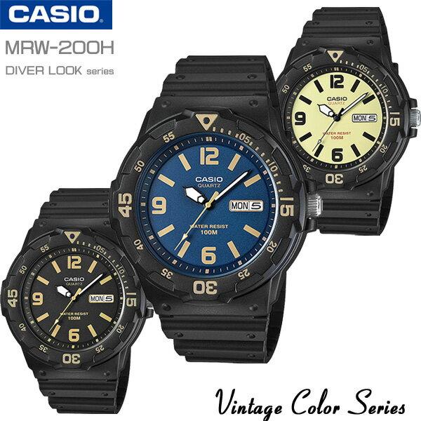 CASIO vintage watch CASIO MRW-200H-1B3 MRW-200H-...