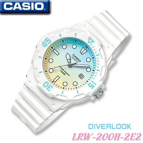 CASIO Dive watch CASIO LRW-200H-2E2 DIVERLOOK ST...