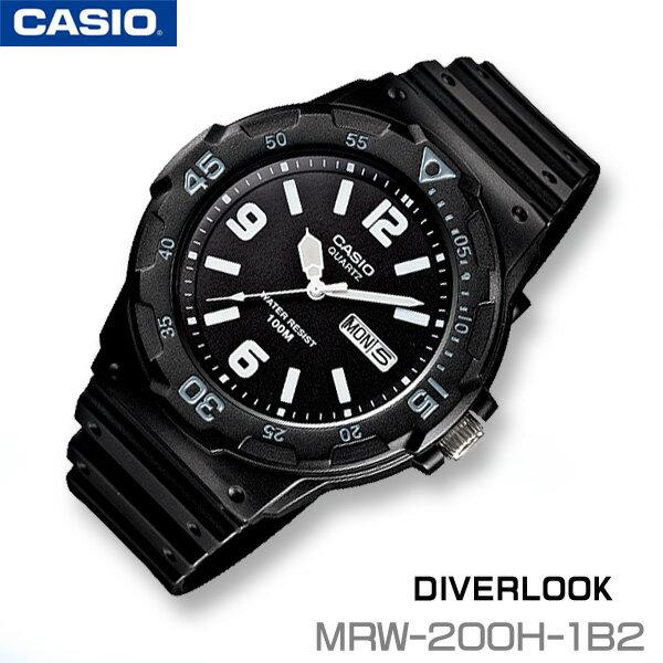 CASIO Dive watch CASIO MRW-200H-1B2 DIVERLOOK ST...