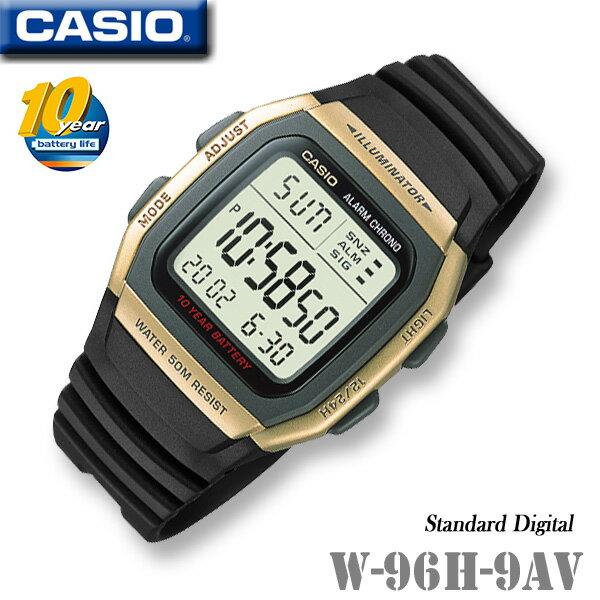 CASIO Digital watch CASIO W-96H-9AV Standard Dig...