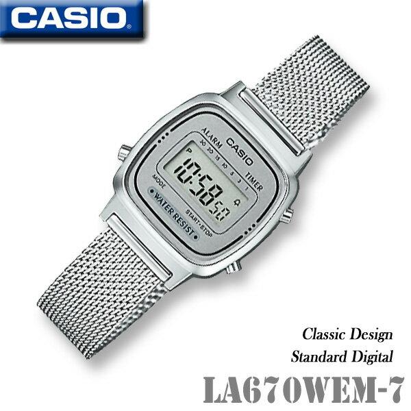 CASIO vintage watch CASIO LA670WEM-7 Vintage des...
