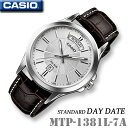 CASIO MTP-1381L-7A DAY-DATE ST...