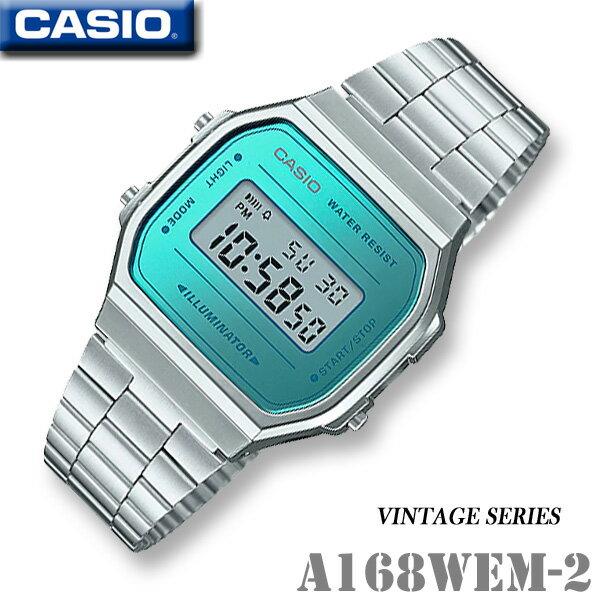CASIO vintage watch CASIO A168WEM-2 -VINTAGE SER...