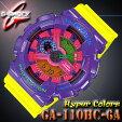 �߸�ͭ�ꡪ¨Ǽ�ġڤ������б��ۥ�����CASIOG����å�G-SHOCK���ʥǥ��Ѽ��ӻ���HyperColors�ϥ��ѡ������顼��GA-110HC-6A�ѡ��ץ�×�����?�ڹ���GA-110HC-6AJF��Ʊ���۳�����ǥ�ڿ��ʡ�