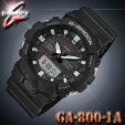 CASIOG-SHOCKGA-800-1AカシオGショック腕時計黒Blackブラック【国内GA-800-1AJFと同型】海外モデル【新品】『宅配便』で全国*送料無料*