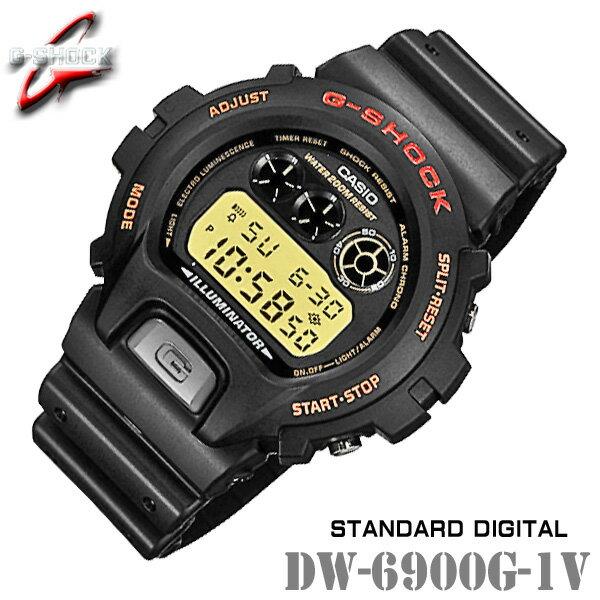 腕時計, メンズ腕時計 CASIO G-SHOCK DW-6900G-1V G