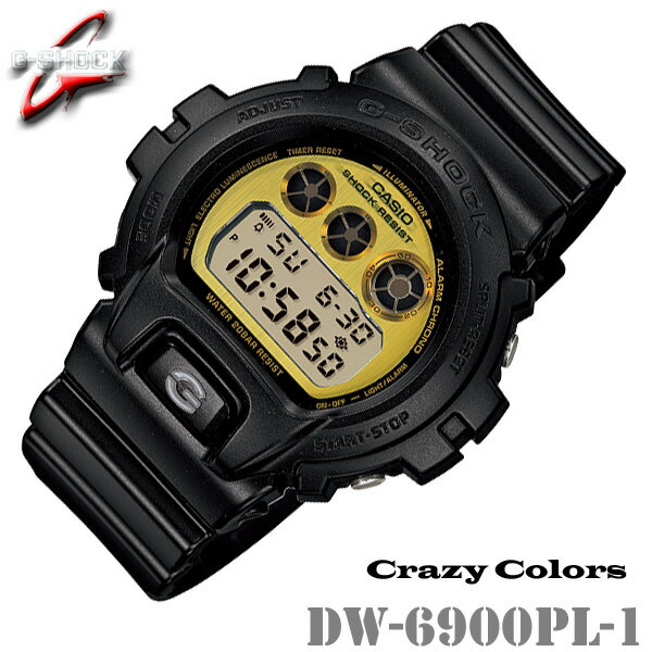 腕時計, メンズ腕時計 CASIO G-SHOCK DW-6900PL-1 G Crazy Colors DW-6900PL-1JF