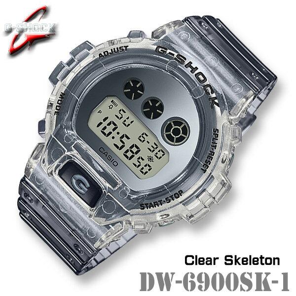 腕時計, メンズ腕時計 CASIO G-SHOCK DW-6900SK-1 G Clear Skeleton DW-6900SK-1JF