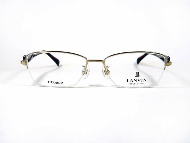 眼鏡・サングラス, 眼鏡 LANVIN VLC-013J C-0SLT