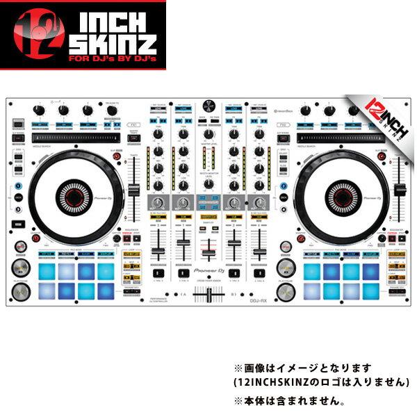 DJ機器, その他 12inch SKINZ Pioneer DDJ-RX SKINZ(WhiteGray) DDJ-RX