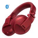 Pioneer / HDJ-X5BT-R (メタリックレッド) BLUETOOTH対応 DJ用ワイヤレスヘッドホン 【パイオニア】【国内正規品】