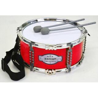 Bontempi(ボンテンピ)/503020ショルダーストラップ付ドラム-子供用楽器-【正規輸入品】