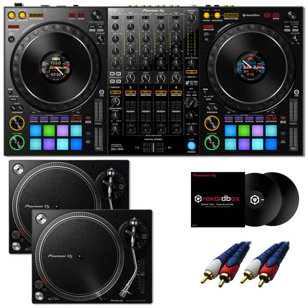 DJ機器, セット 9 Pioneer DDJ-1000 rekordbox dj PLX-500-K DVS