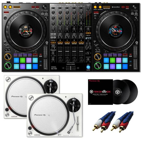 DJ機器, セット 9 Pioneer DDJ-1000 rekordbox dj PLX-500-W DVS