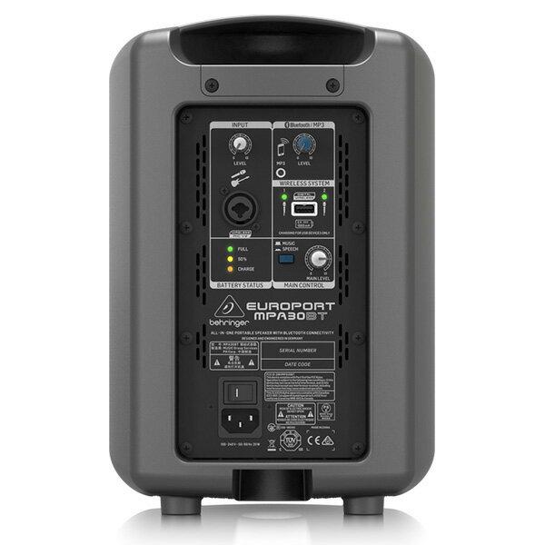 【ワイヤレスヘッドセットPAセット】Behringer(ベリンガー) / MPA30BT EUROPORT 30W / KWS-899P/HM-38 《講演 ・イベントに最適》