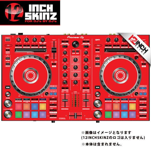 DJ機器, その他 12inch SKINZ Pioneer DDJ-SR2 SKINZ (Red) DDJ-SR2