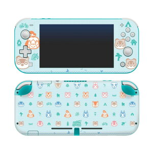 【メール便/送料無料】 Controller Gear / animal crossing (しずえ・つぶきち・まめきち・たぬきち) / あつまれ どうぶつの森 海外限定品 公式ライセンス品 / Nintendo Switch Lite用 スキン カバー シール