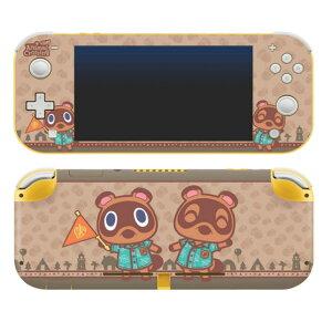 【メール便/送料無料】 Controller Gear / animal crossing (つぶきち・まめきち) / あつまれ どうぶつの森 海外限定品 公式ライセンス品 / Nintendo Switch Lite用 スキン カバー シール