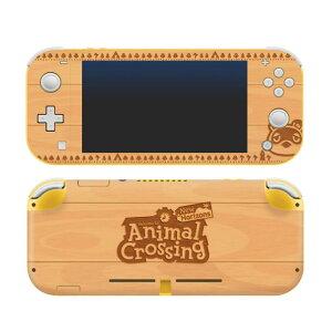 【メール便/送料無料】 Controller Gear / animal crossing (たぬきち 木目調) / あつまれ どうぶつの森 海外限定品 公式ライセンス品 / Nintendo Switch Lite用 スキン カバー シール