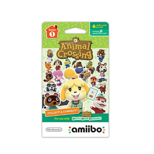 プレイステーション4, 周辺機器 Nintendo() Animal Crossing amiibo Cards 1 6 amiibo