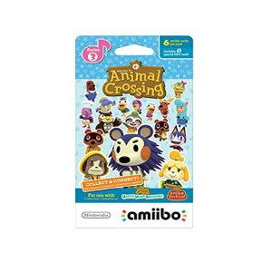 【メール便/送料無料】 Nintendo(ニンテンドー/任天堂) / Animal Crossing amiibo Cards / どうぶつの森 海外仕様 / シリーズ3 / 6枚 amiiboカード ゲーム