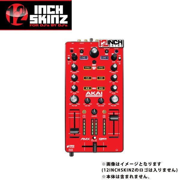 DJ機器, その他 12inch SKINZ Akai AMX Skinz (Red) AMX