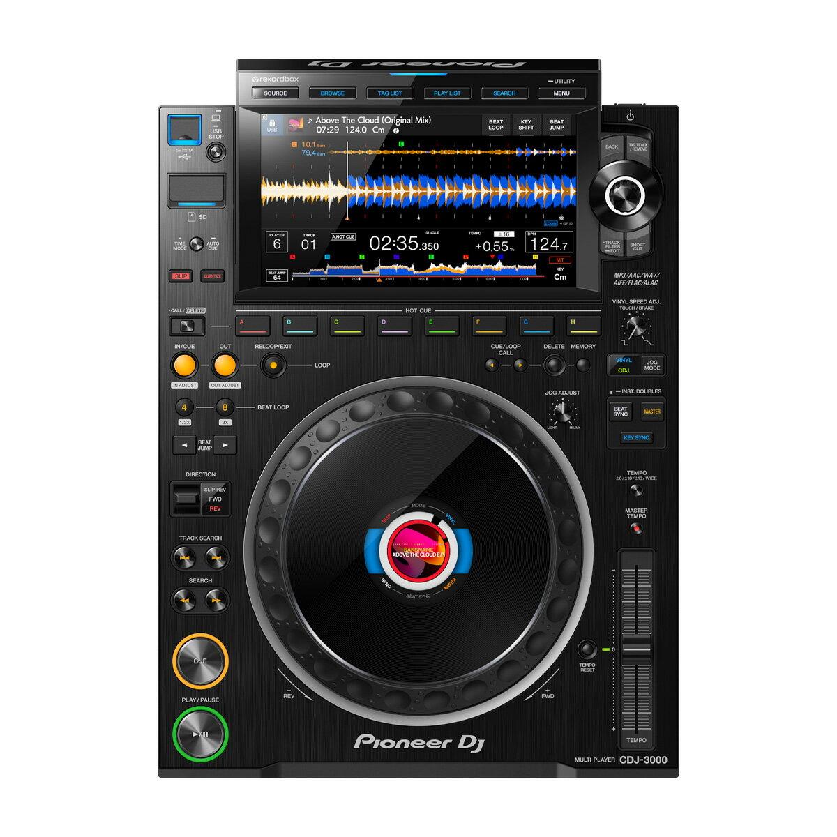 DJ機器, CDJプレーヤー Pioneer DJ CDJ-3000 DJ