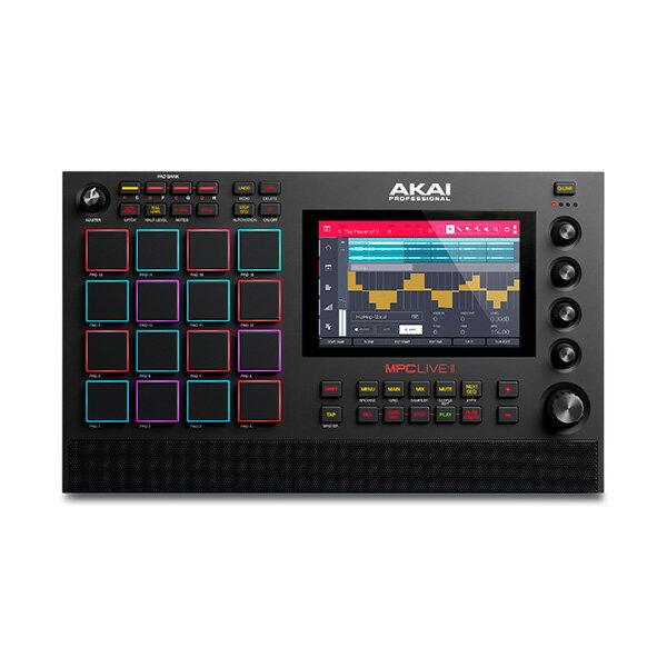 AKAI(アカイ)/MPCLIVE2[スタンドアローン型MPC]充電式バッテリー・スピーカー内蔵/ドラムマシンサンプラー